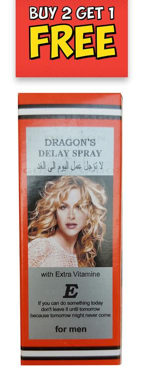 Delay spray dragon China Men′