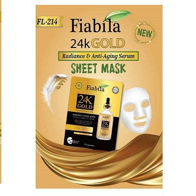 Fiabila 24K Gold Sheet Mask 25 Gm