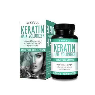 NeoCell Keratin Hair Volumizer Dietary Supplement 60 Tablets